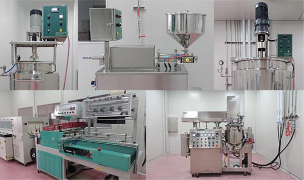 美王打造了高规格多元化的机器厂房设备,以提供客户合适的产量与瓶器包装